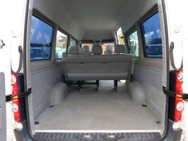 verkauft vw crafter 35 kombi 9 sitzer gebraucht 2008. Black Bedroom Furniture Sets. Home Design Ideas