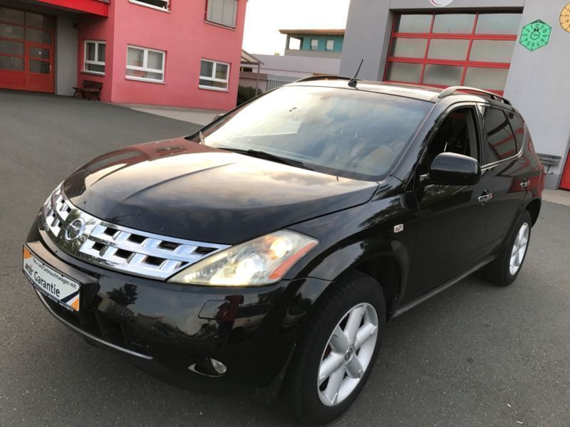 verkauft nissan murano 3 5 selection b gebraucht 2008 km in f rth. Black Bedroom Furniture Sets. Home Design Ideas