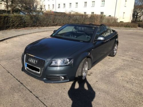 verkauft audi a3 cabriolet 1 8 tfsi s gebraucht 2009 km in spandau. Black Bedroom Furniture Sets. Home Design Ideas