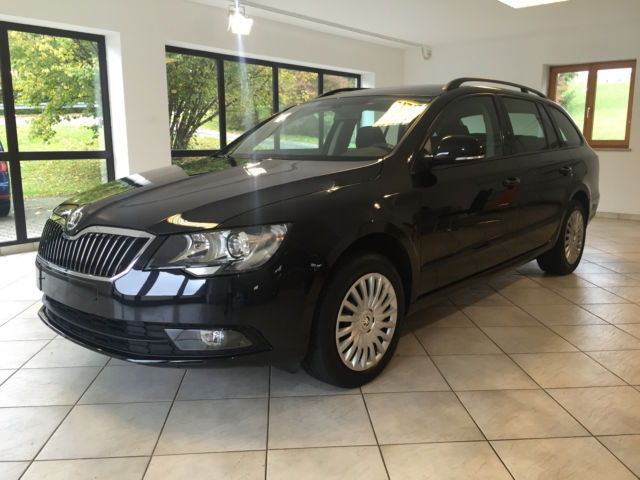 verkauft skoda superb combi active gebraucht 2014 km in bayern. Black Bedroom Furniture Sets. Home Design Ideas