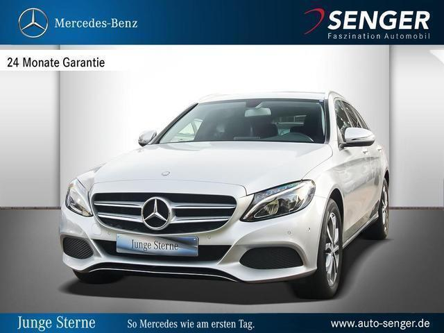 gebraucht Mercedes C200 d T-Modell Avantgarde Avantgarde 360Kam Park-Assis