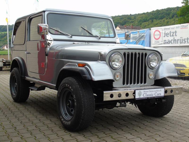 cj gebrauchte jeep cj kaufen 18 g nstige autos zum verkauf. Black Bedroom Furniture Sets. Home Design Ideas