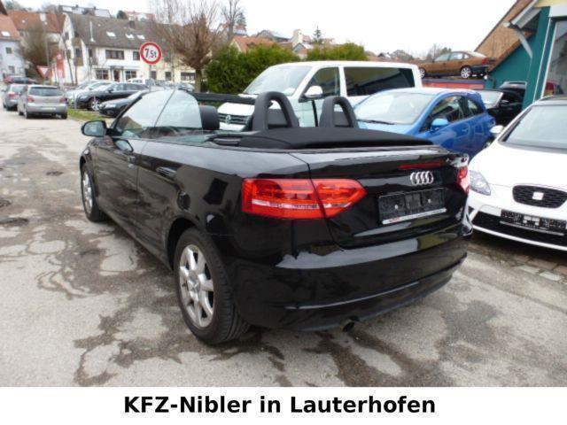 verkauft audi a3 cabriolet 1 2 tfsi am gebraucht 2011 km in knetzgau. Black Bedroom Furniture Sets. Home Design Ideas