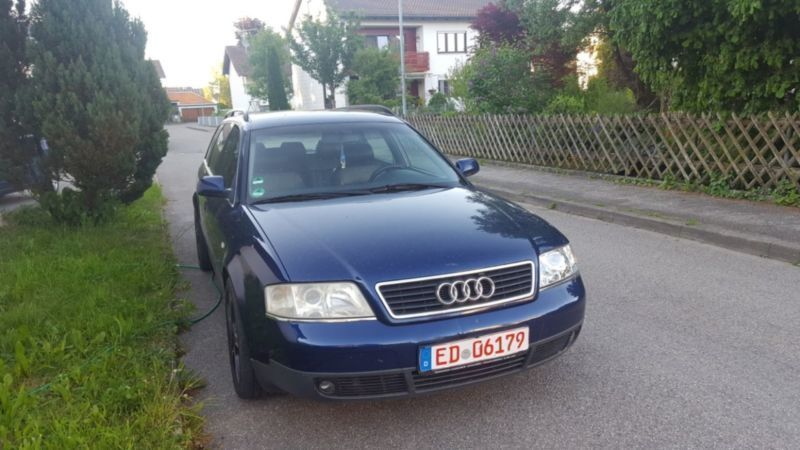 verkauft audi a6 avant 2 4 gebraucht 2000 km in walpertskirchen. Black Bedroom Furniture Sets. Home Design Ideas