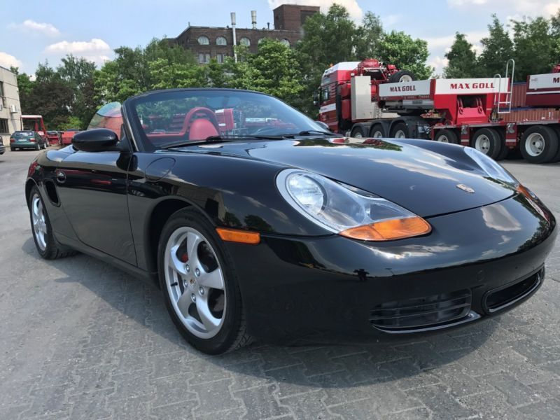 verkauft porsche boxster gebraucht 2001 km in blaubach. Black Bedroom Furniture Sets. Home Design Ideas