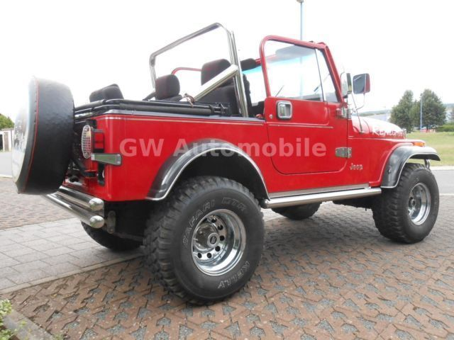 verkauft jeep renegade cj7 4 24x4 ein gebraucht 1985 km in s dharz stolberg. Black Bedroom Furniture Sets. Home Design Ideas