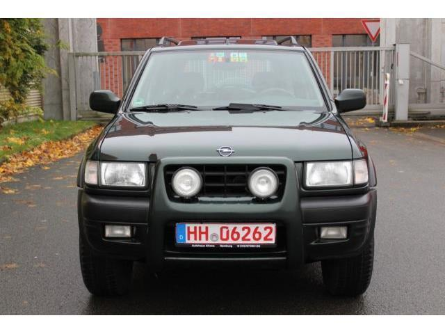 verkauft opel frontera 2 2 sport gebraucht 2000 km in aspach. Black Bedroom Furniture Sets. Home Design Ideas