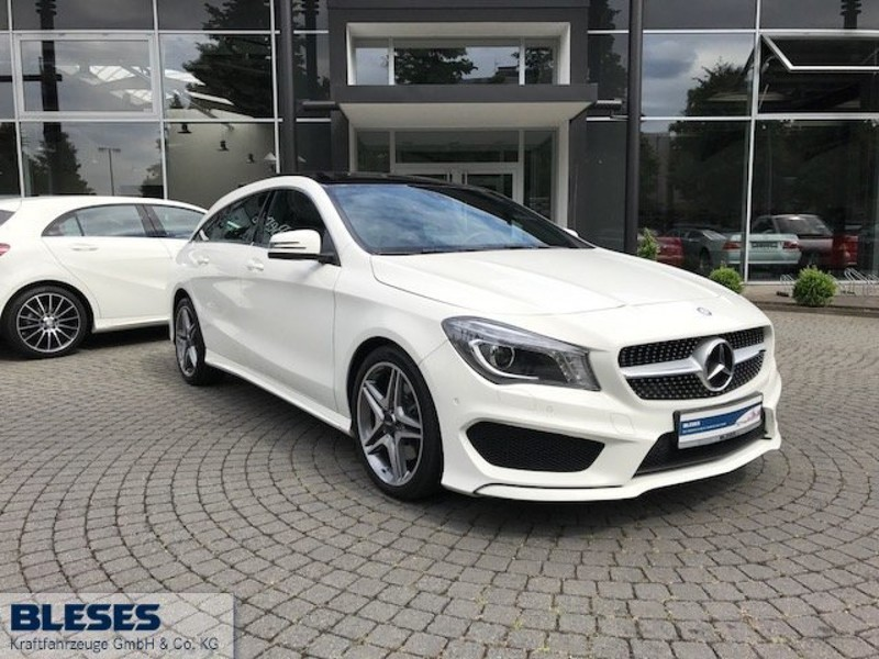verkauft mercedes cla220 shooting brak gebraucht 2015 km in koblenz. Black Bedroom Furniture Sets. Home Design Ideas