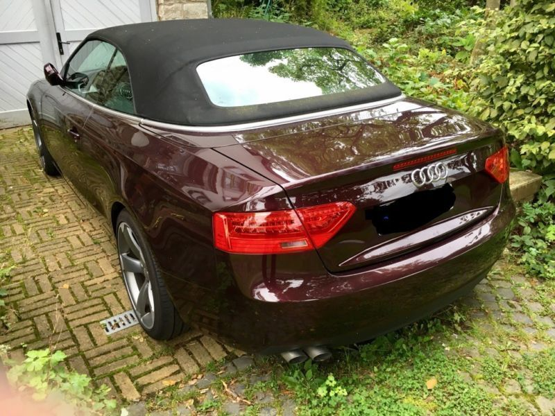 verkauft audi a5 cabriolet tdi s line gebraucht 2012 km in northeim. Black Bedroom Furniture Sets. Home Design Ideas