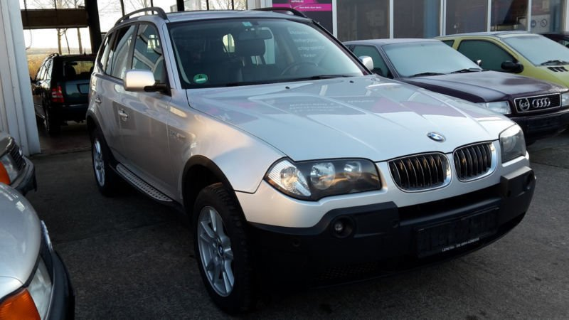 gebraucht automatik bmw x3 2005 km in hannover. Black Bedroom Furniture Sets. Home Design Ideas