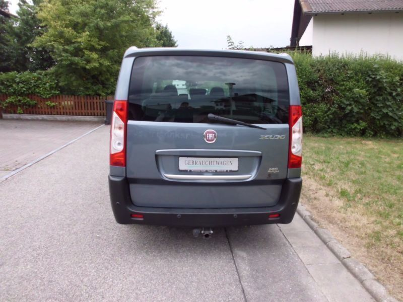 verkauft fiat scudo kombi panorama fam gebraucht 2009 km in dingolfing. Black Bedroom Furniture Sets. Home Design Ideas