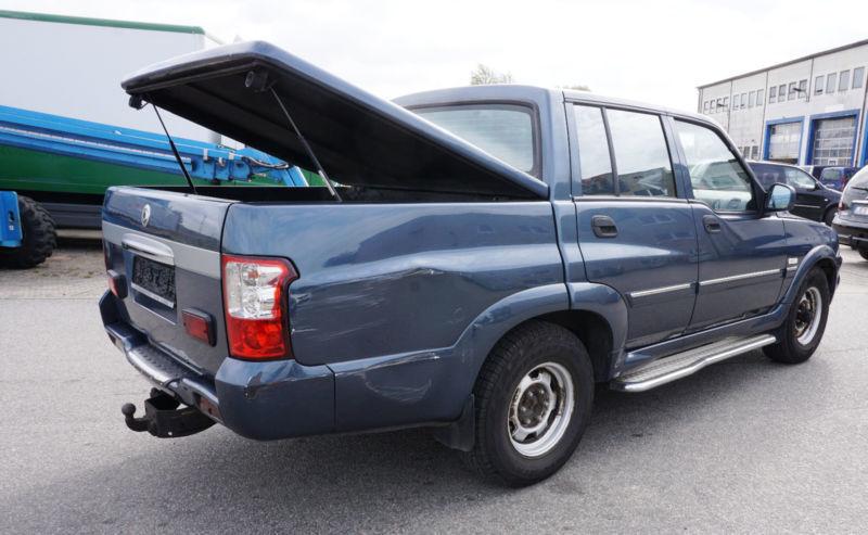 musso gebrauchte ssangyong musso kaufen 22 g nstige autos zum verkauf. Black Bedroom Furniture Sets. Home Design Ideas