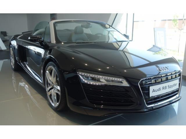verkauft audi r8 spyder 4 2 fsi s tron gebraucht 2015 km in hanau. Black Bedroom Furniture Sets. Home Design Ideas