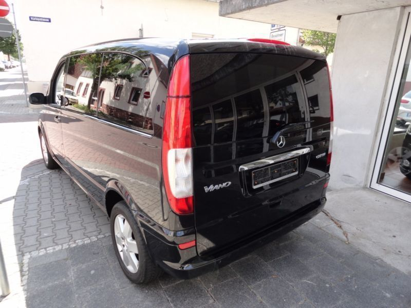 verkauft mercedes viano 3 0 cdi kompak gebraucht 2009 km in raunheim. Black Bedroom Furniture Sets. Home Design Ideas