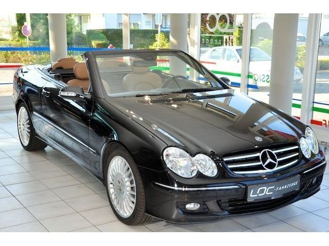 verkauft mercedes 280 clk cabrio avant gebraucht 2007. Black Bedroom Furniture Sets. Home Design Ideas