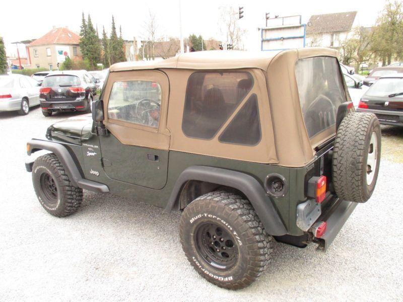 wrangler gebrauchte jeep wrangler kaufen 481 g nstige. Black Bedroom Furniture Sets. Home Design Ideas