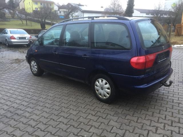 verkauft seat alhambra 1 9 tdi comfort gebraucht 1999 km in rohrdorf thansau. Black Bedroom Furniture Sets. Home Design Ideas