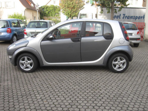 verkauft smart forfour passion 1 3 gebraucht 2006. Black Bedroom Furniture Sets. Home Design Ideas