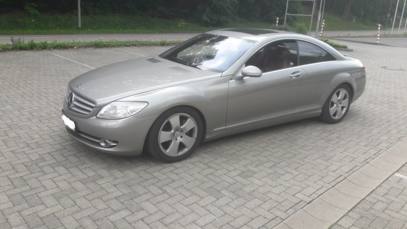 verkauft mercedes cl500 7g tronic gebraucht 2007 km in korbach. Black Bedroom Furniture Sets. Home Design Ideas