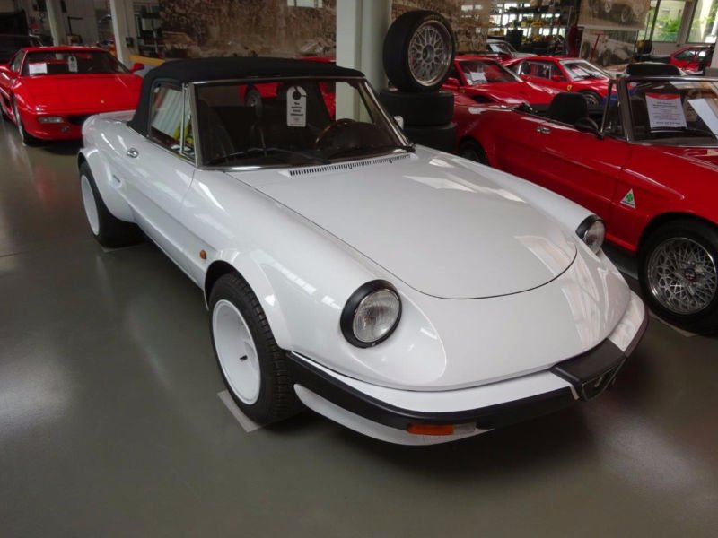 verkauft alfa romeo spider 2.0 auto ne., gebraucht 1987, 122.316 km