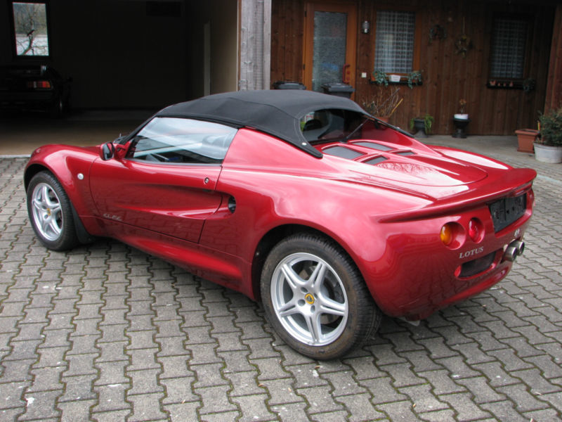 verkauft lotus elise mk1 sterreich z gebraucht 1999 km in d rnau. Black Bedroom Furniture Sets. Home Design Ideas