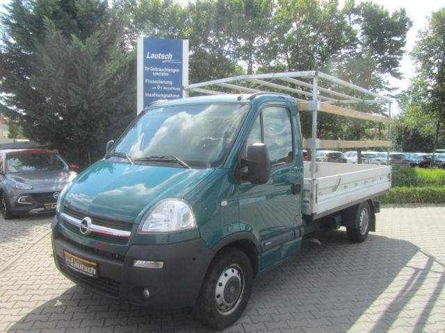 verkauft opel movano 2 5 cdti pritsche gebraucht 2009 km in j terbog. Black Bedroom Furniture Sets. Home Design Ideas