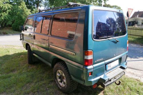 verkauft mitsubishi l300 4wd glx, gebraucht 1995, 330.232 km in