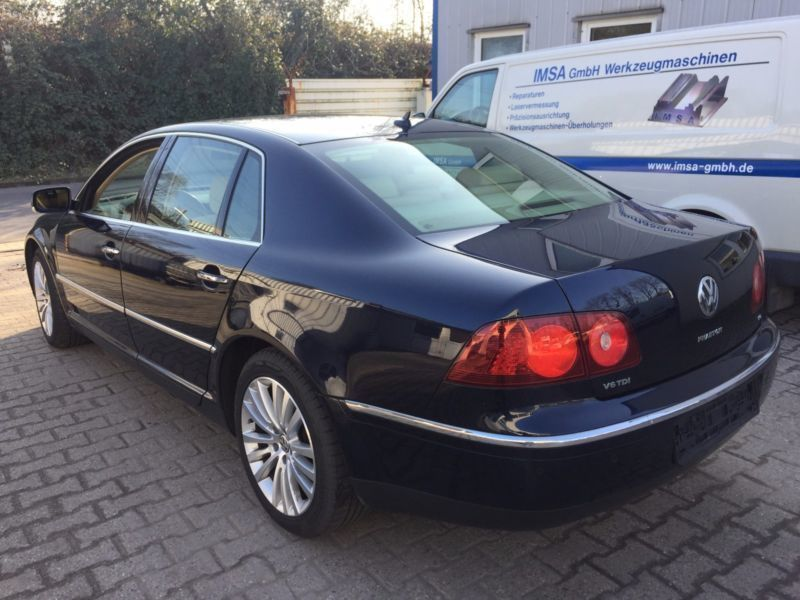 verkauft vw phaeton v6 tdi 4motion gebraucht 2008 km in bottrop. Black Bedroom Furniture Sets. Home Design Ideas