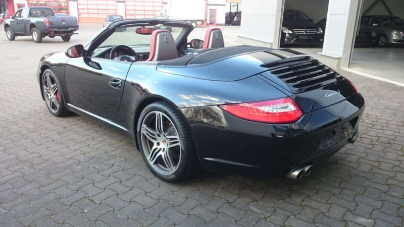verkauft porsche 997 s cabrio 385 ps gebraucht 2009 km in braunschweig. Black Bedroom Furniture Sets. Home Design Ideas