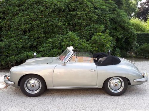 verkauft porsche 356 b cabrio gebraucht 1963 km in wohltorf. Black Bedroom Furniture Sets. Home Design Ideas