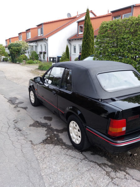 verkauft ford escort cabriolet gebraucht 1989 km in esens. Black Bedroom Furniture Sets. Home Design Ideas