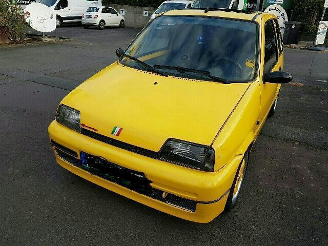 verkauft fiat cinquecento 1 1 sporting gebraucht 1996 km in biebertal. Black Bedroom Furniture Sets. Home Design Ideas