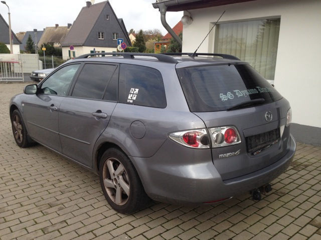 verkauft mazda 6 sport kombi 1 8 exclu gebraucht 2004 km in radebeul. Black Bedroom Furniture Sets. Home Design Ideas