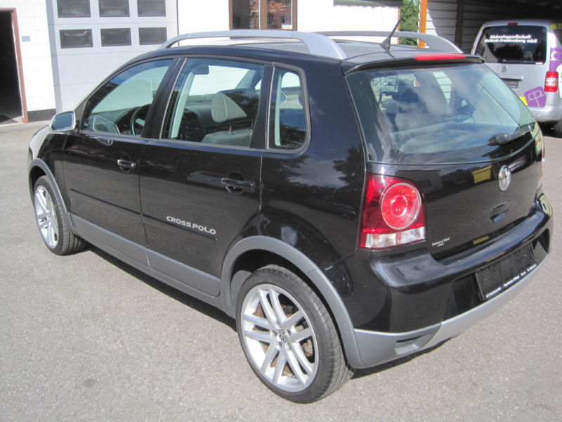 verkauft vw polo cross polo gebraucht 2008 km in breuna. Black Bedroom Furniture Sets. Home Design Ideas
