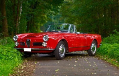 verkauft alfa romeo 2600 touring spider, gebraucht 1964, 1 km in