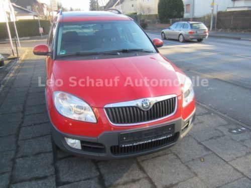 verkauft skoda roomster scout hu neu gebraucht 2008 km in annaberg buchholz. Black Bedroom Furniture Sets. Home Design Ideas