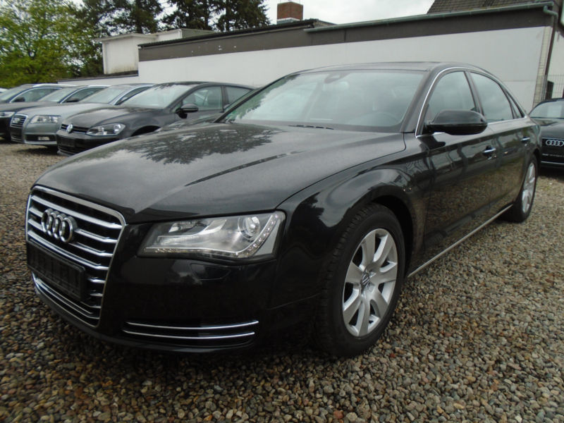 verkauft audi a8 lang 4 2 tdi top aus gebraucht 2012 km in hamburg. Black Bedroom Furniture Sets. Home Design Ideas
