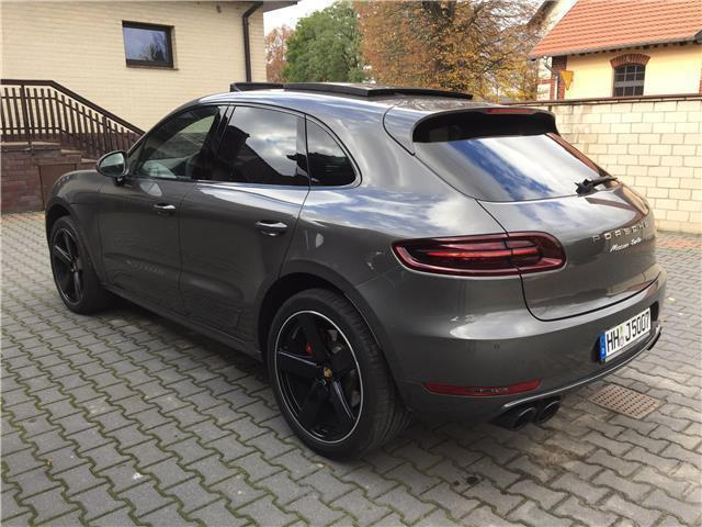 verkauft porsche macan turbo pdk gebraucht 2016 km in pleszew polska. Black Bedroom Furniture Sets. Home Design Ideas