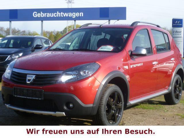 1 4 Gebraucht Dacia Sandero Stepway Neue Schwarze Lm Felge