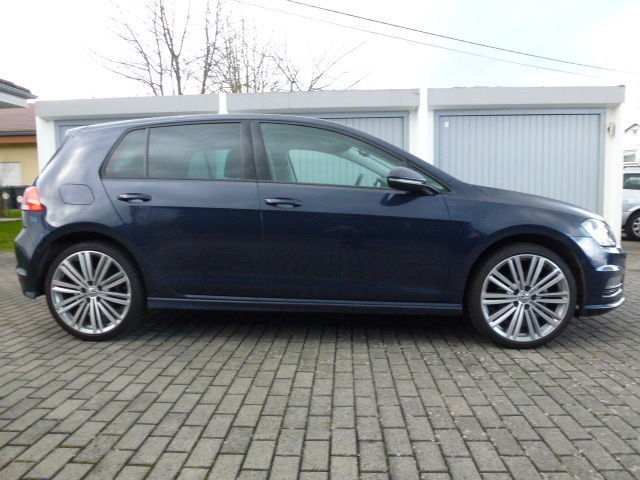 verkauft vw golf vii 1 4 tsi r line 19 gebraucht 2013 km in sessenhausen. Black Bedroom Furniture Sets. Home Design Ideas