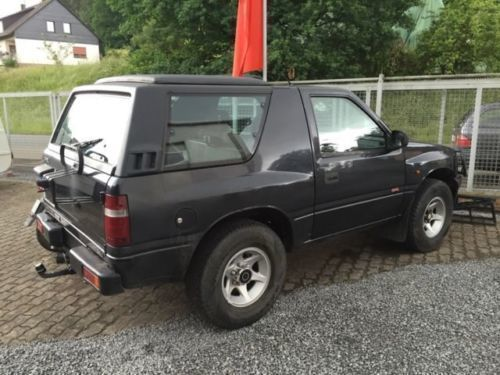 verkauft opel frontera 2 0i sport bj 1 gebraucht 1994 km in werkhausen. Black Bedroom Furniture Sets. Home Design Ideas