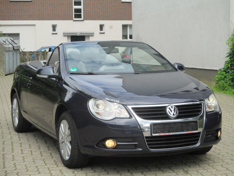 verkauft vw eos gebraucht 2006 km in eckartsberga. Black Bedroom Furniture Sets. Home Design Ideas