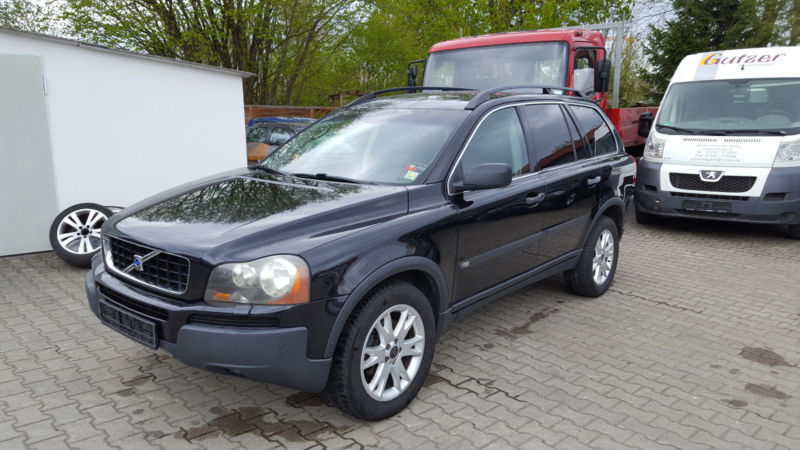 verkauft volvo xc90 t6 geartronic gebraucht 2004 km in achstetten. Black Bedroom Furniture Sets. Home Design Ideas