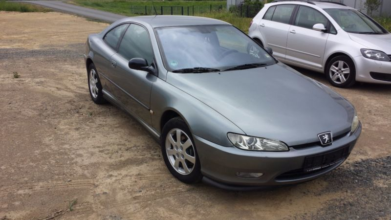 verkauft peugeot 406 coupe 2 2 hdi gr gebraucht 2002 km in marburg. Black Bedroom Furniture Sets. Home Design Ideas