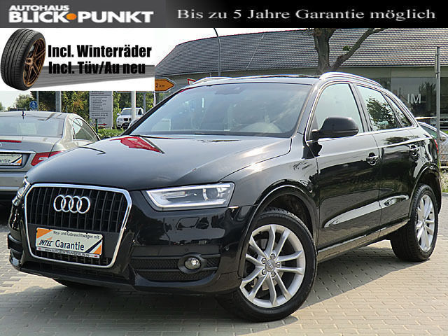 verkauft audi q3 2 0 tdi s tronic quat gebraucht 2011. Black Bedroom Furniture Sets. Home Design Ideas
