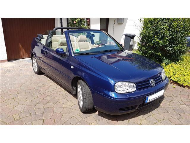 verkauft vw golf cabriolet cabrio 1 6 gebraucht 2000 km in frankfurt. Black Bedroom Furniture Sets. Home Design Ideas