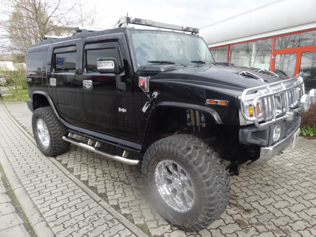 verkauft hummer h2 6 0 v8 fabtech gasd gebraucht 2003 km in worms. Black Bedroom Furniture Sets. Home Design Ideas