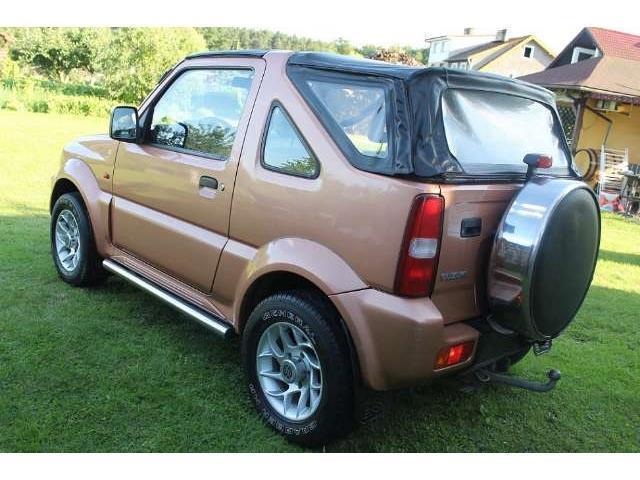verkauft suzuki jimny cabrio gebraucht 2002 km in. Black Bedroom Furniture Sets. Home Design Ideas