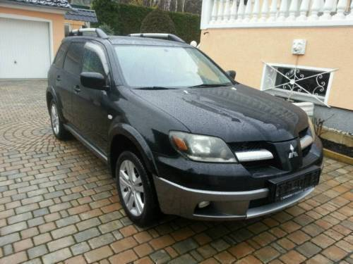 verkauft mitsubishi allrad outlander 2 gebraucht 2004 km in pinneberg. Black Bedroom Furniture Sets. Home Design Ideas