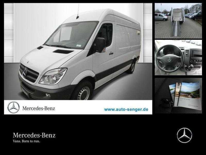 gebraucht Mercedes Sprinter 313CDI KA HOCH STANDHZG+AHK+JUNGESTERNE